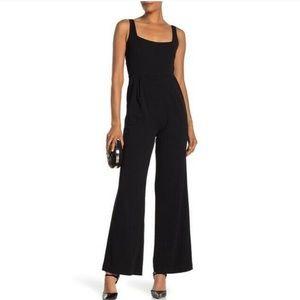Calvin Klein Square Neck Sleeveless Jumpsuit